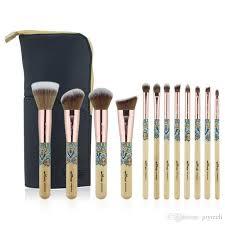 sets bamboo makeup brush professional make up brush set foundation highlighter eyeshadow burshes tool dhl makeup brands makeup case from joytech