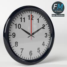 office wall clocks large. Office Wall Clock 1 - 3DOcean Item For Sale. IMAGE-SET/office_wall_clock_1_hr---00.jpg IMAGE-SET/office_wall_clock_1_hr---01.jpg Clocks Large