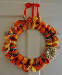 Fall Ribbon Wreath done
