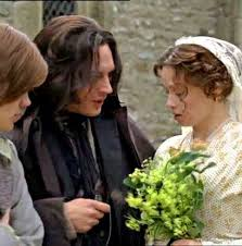 best jane austen the bronte sisters images wuthering heights 2009 heathcliff cathy and linton on their wedding day