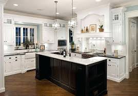 chandelier for kitchen island dining room classic led lights in the kitchen design with chandelier above