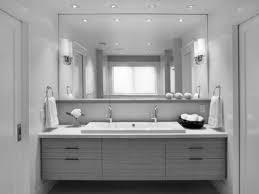 elegant black wooden bathroom cabinet. Design Bathroom White Modern Vanity Lights From Recessed Lamps Sconces Make Elegant Black Wooden Cabinet C