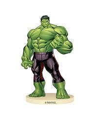 Lizenz Hulk-Figur Avengers™ violett-grün 9 cm: Partydeko,und günstige  Faschingskostüme - Vegaoo