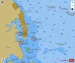 Potomac River Colonial Beach Va Inset 9 Marine Chart