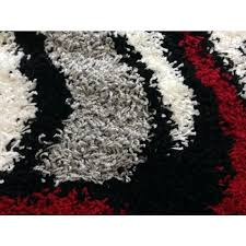red black and white rug whole area rugs rug depot black abstract swirls red black and white rug