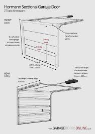 sectional garage door assembly luxury size garage door garage door size 18 garage door header size