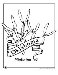 Small Picture Oklahoma State Flower Coloring Page Woo Jr Kids Activities