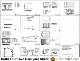 office shed plans. 10x16 Studio Shed Plans S1 | 10x12 Office Modern