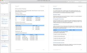 Business Case Template Apple Iwork Pages Templates