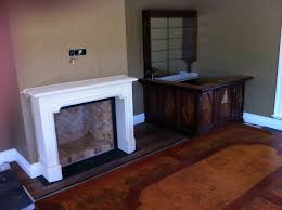 Fireplace designed by Michael Bell Architects built by Chateau Couture