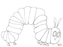 Very Hungry Caterpillar Coloring Page Free Printable Coloring