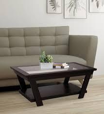 crown coffee table in walnut finish