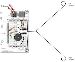activity 1 build and test the whiskers learn parallax com wiring diagram for whisker sensor circuits on the boe shield bot
