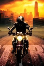 downaload biker bike digital art wallpaper 320x480 samsung galaxy ace gt s5830 sony xperia e miro htc wildfire s c lg optimus