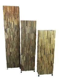 Floor Lamp Wood Wood Brown Eliassen Home Garden Pleasure