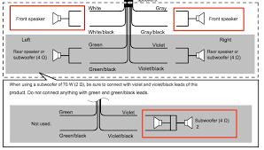 wiring diagram for pioneer sph da120 wiring image appradio 4 sph da120 crossover through rear speaker for bridged on wiring diagram for pioneer sph