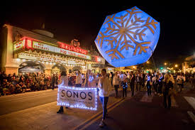 State Street Lights Up For 65th Annual Downtown Santa