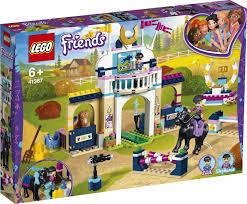 Конструктор <b>LEGO Friends</b> 41367 <b>Соревнования по</b> конкуру ...