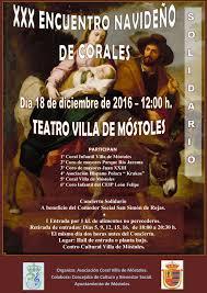 El Teatro Villa de M stoles acoge el XXX Encuentro Navide o de.