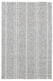 seaside cottage rugs melange stripe ivory black indoor outdoor rug