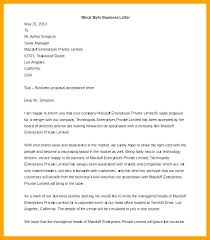 Ms Office Proposal Template Ms Office Business Letter Template Heading Letterhead Style Word