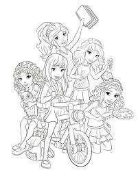 Small Picture Lego Friends Coloring Pages fablesfromthefriendscom