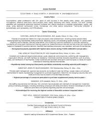 Jewelry Sales Resume Waiter Resume Examples For Letters Job