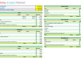 vacation budget planner vacation budget planner template download budget templates for excel