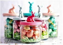 Decorating Jelly Jars Crafts for Easter jam jars can replace Easter baskets Interior 26