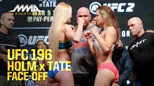 UFC 196 Weigh-Ins: Holly Holm vs ...