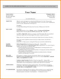 9 How To Write Curriculum Vitae For Teaching Job Barber Resume