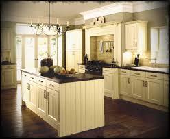 oak wood ginger prestige door off white kitchen cabinets backsplash shaped tile stone marble countertops sink