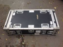 Flight cases for the catering industry come in many shapes and sizes and include fridge and freezer cases from glass fronted bar display fridge style to chest freezers, all of which can also be fitted with storage draws or removable catering storage flight case with table lid. Large Ex Mod Flight Case Coffee Table Storage Box Industrial Heavy Duty 1410784342