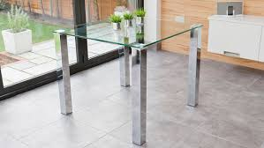 Small Glass Kitchen Table Elegant Glass Dining Table For Kitchen