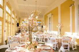 Beautiful Reception Decorations Beautiful Wedding Reception Decor In The Mansion House At Maryland