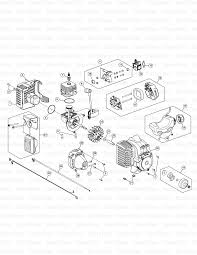 mtd m2510 41bdz03c758 murray gas string trimmer engine mtd m2510 41bdz03c758 murray gas string trimmer engine assembly diagram and parts list partstree com