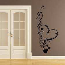 Small Picture Dettagli su Floreale Amore Cuore Fiori Wall art Adesivi Murali