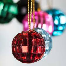 Mini Disco Ball Decorations Assorted Mini Mirror Ball Ornaments Christmas and Winter Sale 56