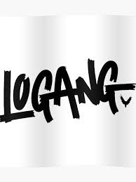 Logan Paul Logang Logo Poster