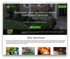 landscaping templates free 011 lawn care website template 7 landscaping templates