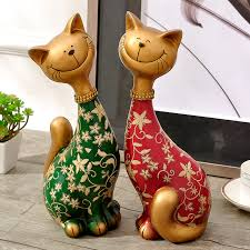 get ations european creative decorations cat ornaments practical gifts friends wedding gifts upscale crafts marriage room gift