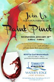 paint and pinot