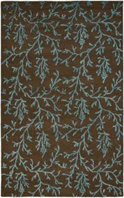 safavieh soho soh214b brown light blue area rug