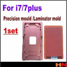 1 <b>Набор стеклянных форм</b> с рамкой для iphone 7 7p Plus 4,7 5,5 ...