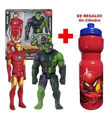 C.A.B Comics | Iron Man Y Hulk Venomized Spiderman Maximum Venom Titan Hero  - $ 1,299.00