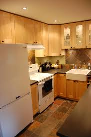Kitchen Patterns And Designs Kitchen Cabinets White Cabinets And Dark Counters Small Kitchen