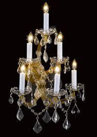 wall chandelier crystal scones lighting fixtures