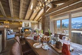 Swiss Chalet Decor Luxury Comfort And Spectacular Mountain Views At The Sherwood Chalet