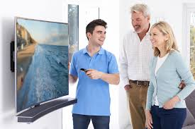 can you mount a curved screen hdtv