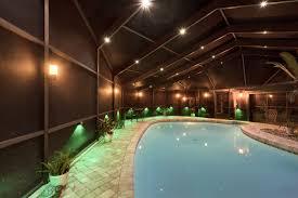 pool enclosure lighting. contemporary enclosure nebula lighting system screen room enclosure jacksonville inside pool n